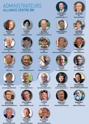 les administrateurs 2016