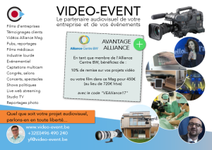 avantage video event en image