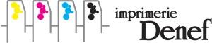 denef imprimerie logo