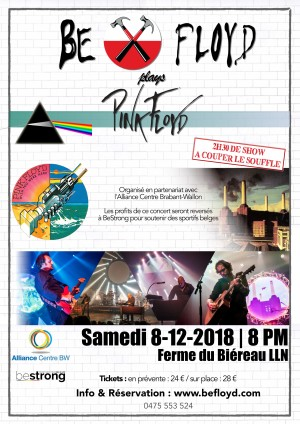 concert PinkFloyd 8 decembre