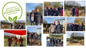 Photos souvenirs de la plantation le 22 novembre 2019 Axis Parc bis