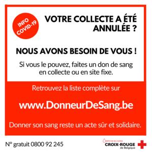 collecte sang