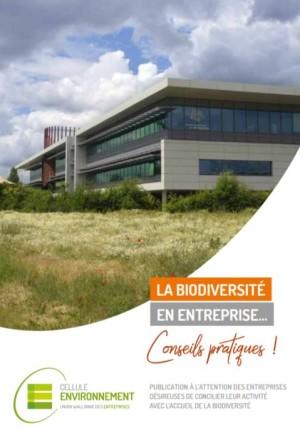 Capture cover guide biodiversité en entreprise de l'UWE